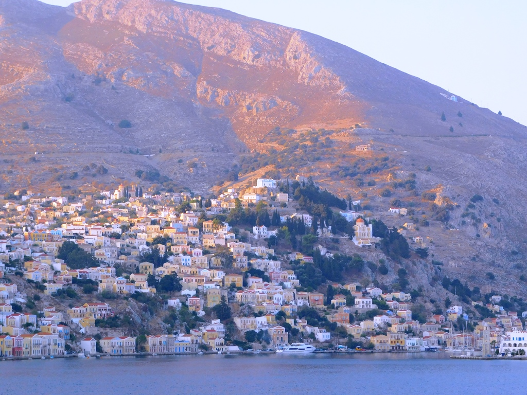 October Postcards from Symi
