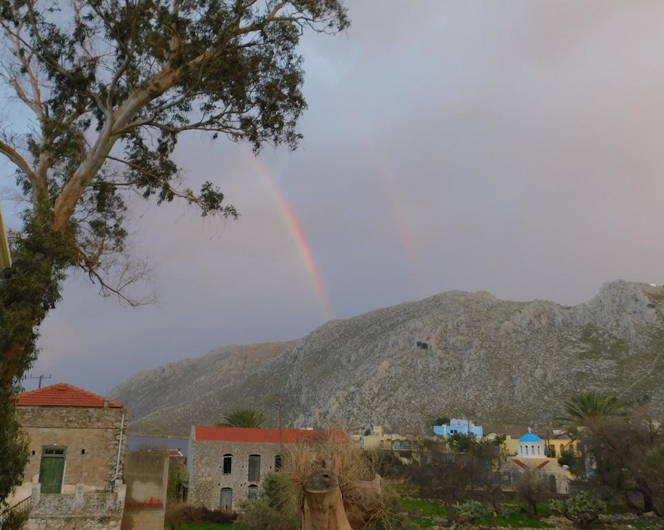 double rainbow from pedi