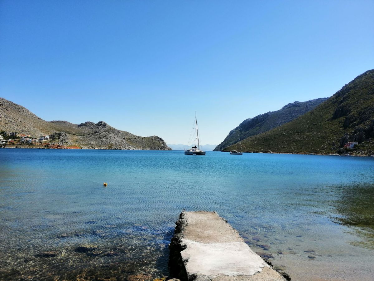 April Postcards from Symi