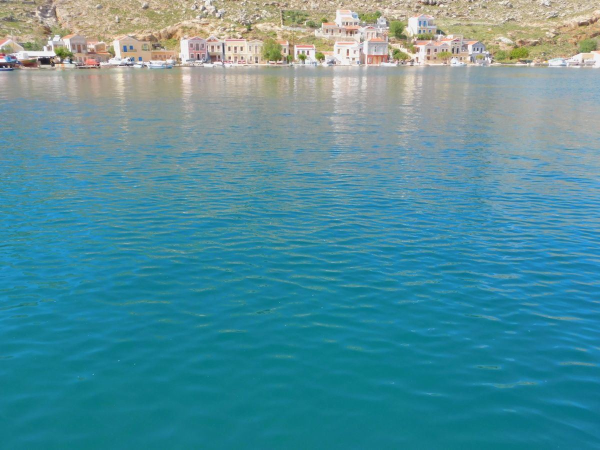 May Postcards from Symi