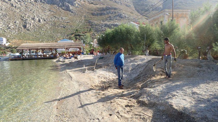 Katsaras 7 November 2019 saving sand
