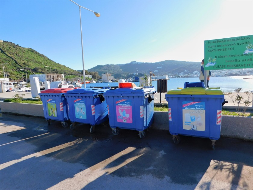 recycling in the harbour