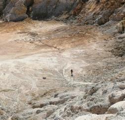 Nicholas in the caldera 2
