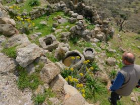 Nikia ancient settlement wells